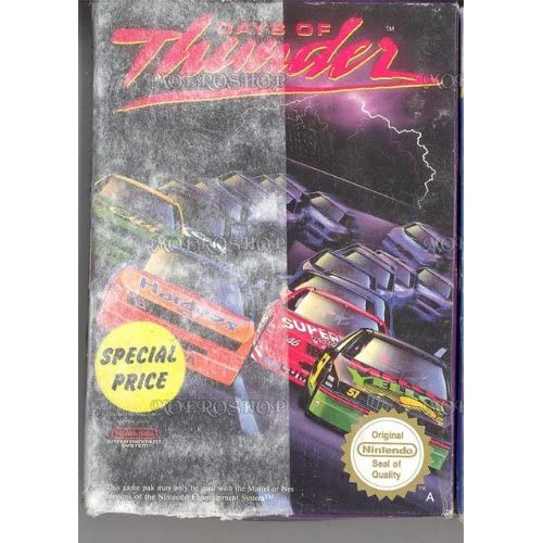 Image 0 of Days Of Thunder For Nintendo NES Vintage