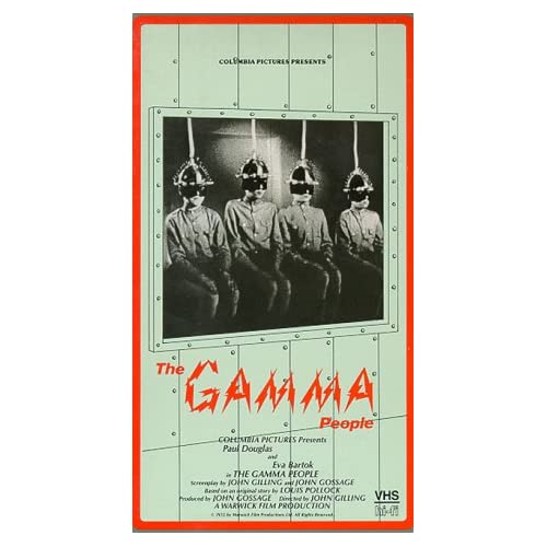 Image 0 of Gamma People On VHS With Paul Douglas