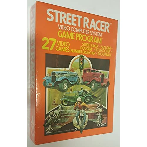 Street Racer Atari 2600 For Atari Vintage Racing