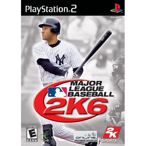Major League Baseball 2K6 For PlayStation 2 PS2 With Manual and Case