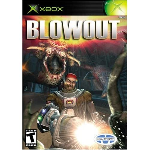 Blowout Xbox For Xbox Original With Manual and Case