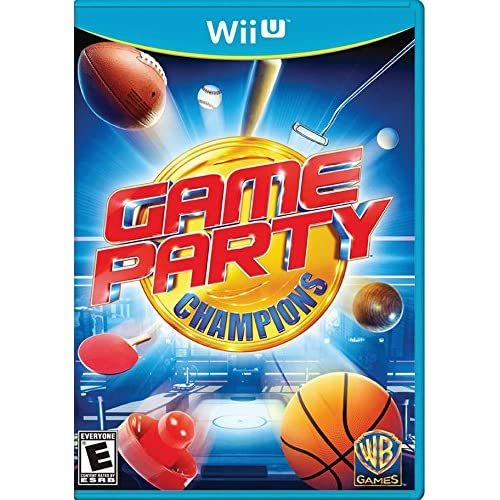 Game Party Champions For Wii U Arcade With Manual and Case