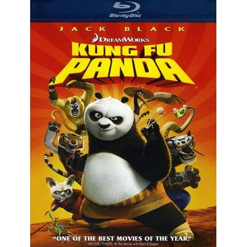 Kung Fu Panda Bd-Live Blu-Ray On Blu-Ray With Jack Black