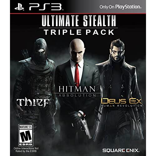 Image 0 of Ultimate Stealth Triple Pack For PlayStation 3 PS3