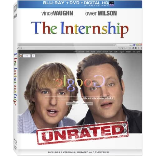 Image 0 of The Internship On Blu-Ray With Vince Vaughn Comedy