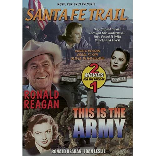 Image 0 of Santa Fe Trail/ This Is The Army On DVD