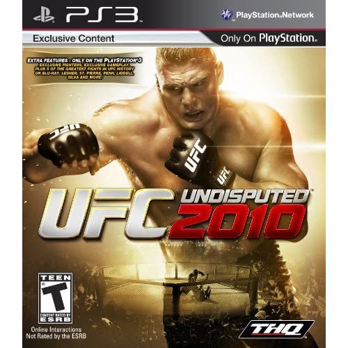 UFC Undisputed 2010 For PlayStation 3 PS3 Wrestling