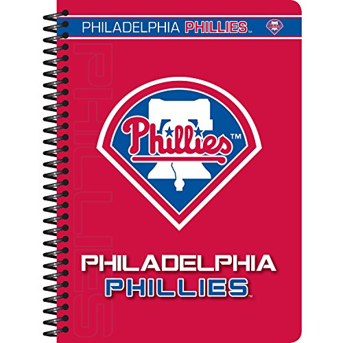 Cr Gibson 5 X 7 Inches Personal Spiral Notebook Philadelphia Phillies