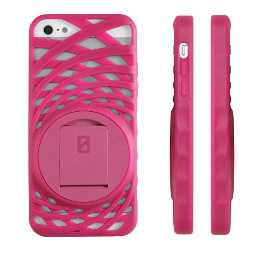 Image 3 of iPhone 5 5S SE Vortex Stand Case By Zerochroma Pink Cover Fitted