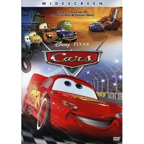 Image 0 of Cars Single-Disc Widescreen Edition On DVD With Owen Wilson Disney Anime