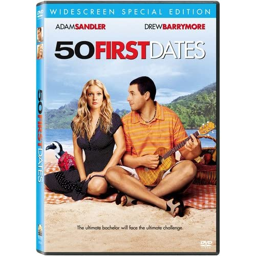 Image 0 of 50 First Dates Widescreen Special Edition On DVD With Rob Schneider Comedy
