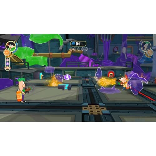 Image 3 of Phineas And Ferb: Across The 2nd Dimension For Wii Disney