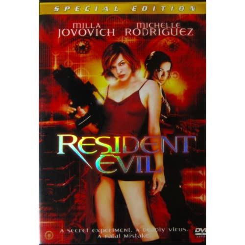 Image 0 of Resident Evil Movie On DVD