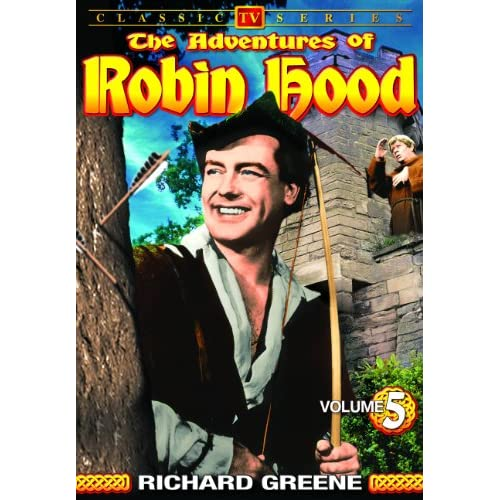 Image 0 of Adventures Of Robin Hood Volume 5 On DVD With Richard Greene