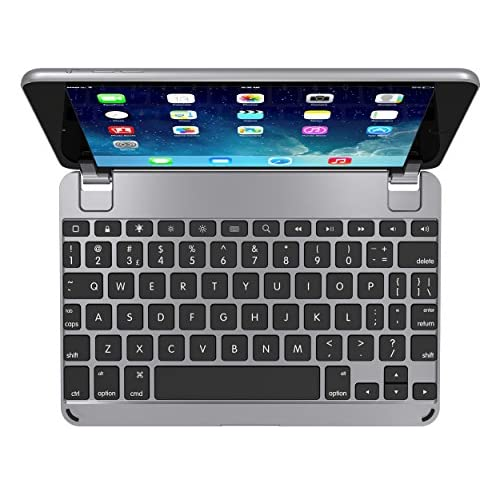 Brydgemini Bluetooth Keyboard For iPad Mini 1 2 And 3 Space Gray