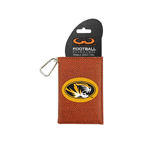 Image 0 of NCAA Missouri Tigers Classic Football ID Holder One Size Brown