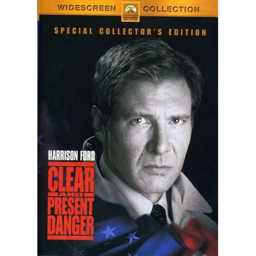 Image 0 of Clear And Present Danger Special Edition On DVD With Harrison Ford