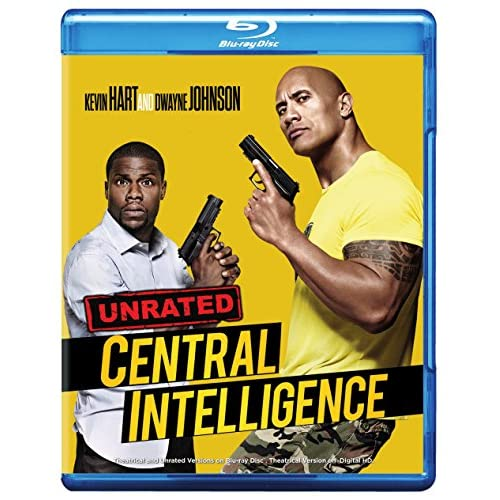 Image 0 of Central Intelligence Blu-Ray On Blu-Ray With Dwayne Johnson