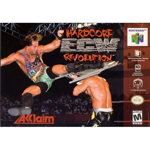 ECW: Hardcore Revolution For N64 Nintendo