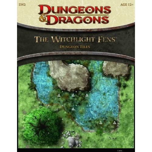 Image 0 of The Witchlight Fens Dungeon Tiles: A 4th Edition Dungeons And Dragons Accessory