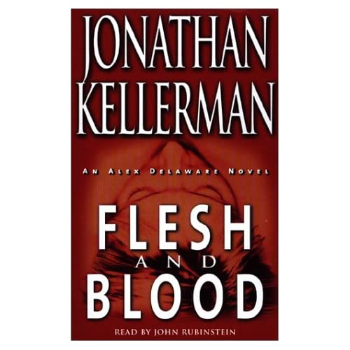 Image 0 of Flesh And Blood Alex Delaware No 15 By Jonathan Kellerman John Rubinstein On Aud