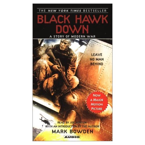 Image 0 of Black Hawk Down By Mark Bowden On Audio Cassette