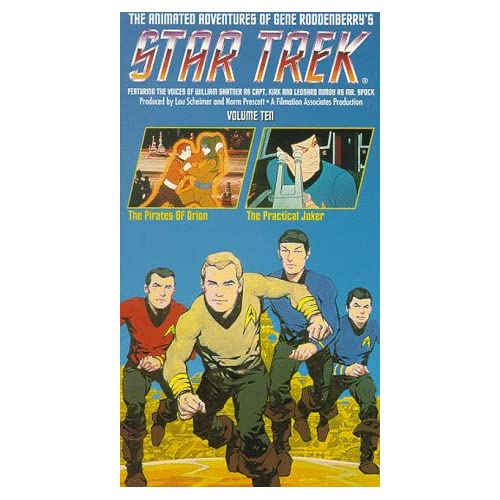 Image 0 of Star Trek The Animated Series Vol 10: The Pirates Of Orion/ The Practical Joker