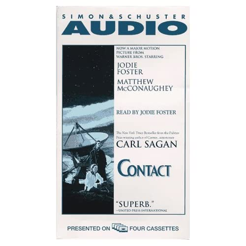 Image 0 of Contact Movie Tie-In Cassette By Carl Sagan Jodie Foster Reader On Audio Cassett
