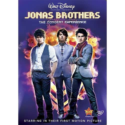 Image 0 of Jonas Brothers: The Concert Experience Single-Disc Edition On DVD With