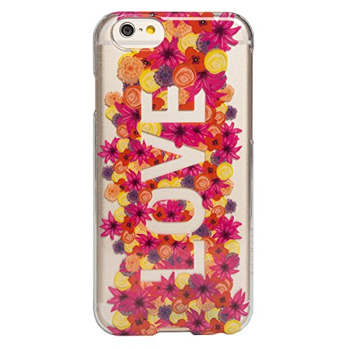 AGENT18 iPhone 6 / iPhone 6S Case SlimShield Clear / Flower Love Cover