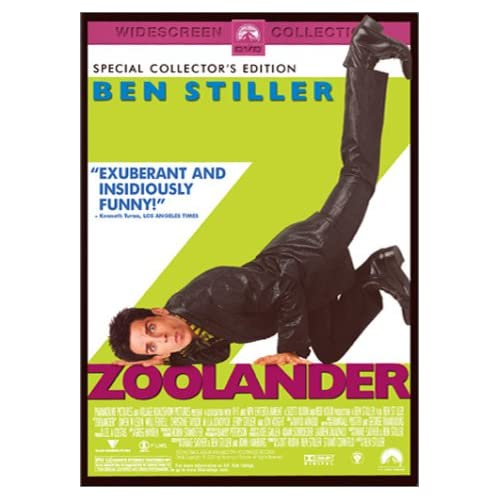 Image 0 of Zoolander Special Edition On DVD With Ben Stiller Comedy