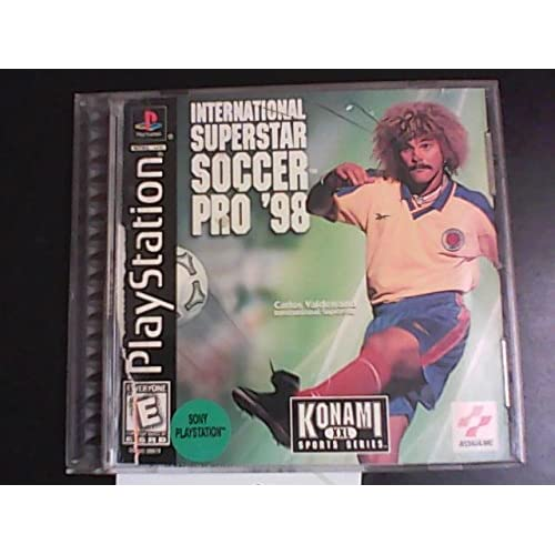 Image 0 of International Superstar Soccer Pro 98-PLAYSTION For PlayStation 1 PS1