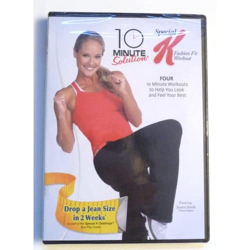 10 Minute Solution Special K-Fashion Fit Workout On DVD Exercise