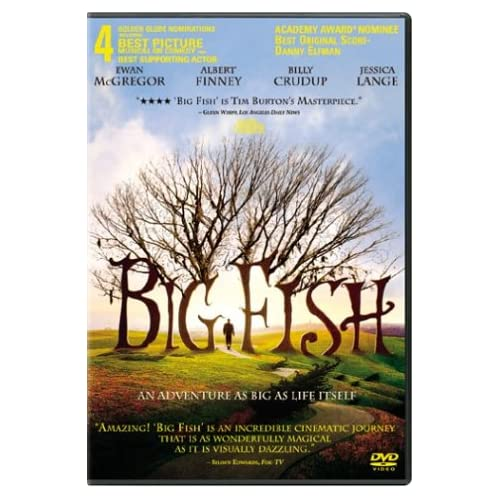 Image 0 of Big Fish On DVD with Jessica Lange Comedy