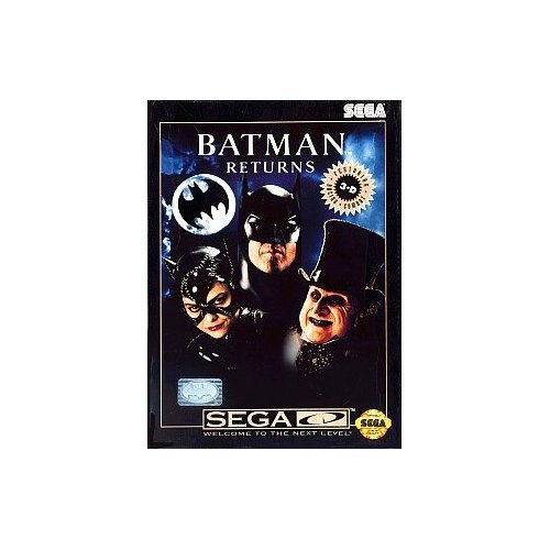Batman Returns For Sega CD Racing