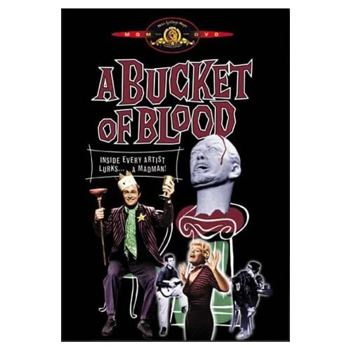 Image 0 of A Bucket Of Blood On DVD With Dick Miller Horror