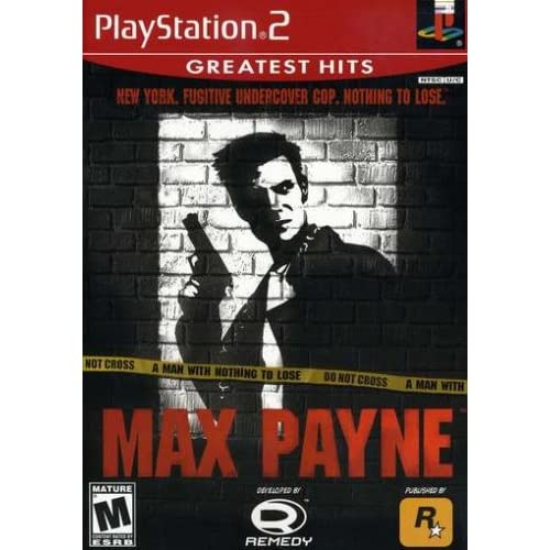 Max Payne For PlayStation 2 PS2 With Manual and Case