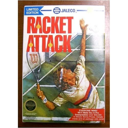 Image 0 of Racket Attack For Nintendo NES Vintage
