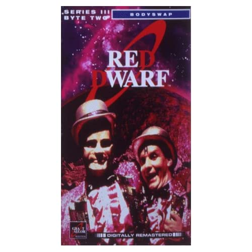 Image 0 of Red Dwarf Series III Byte Two 1989 Remastered Programs Bodyswap / Timeslides / T