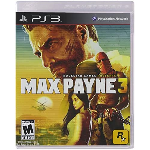 Max Payne 3 For PlayStation 3 PS3