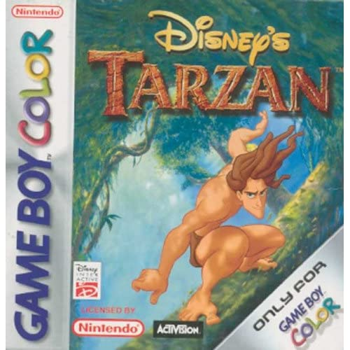 Disney's Tarzan For Arcade On Gameboy Color
