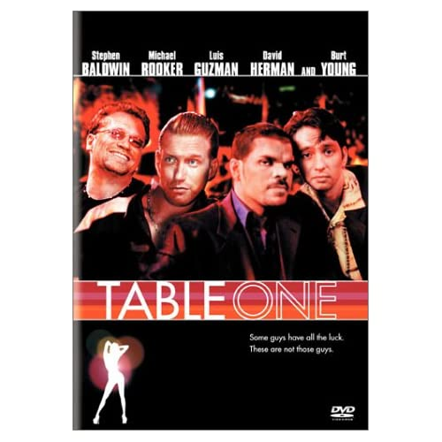 Image 0 of Table One On DVD with Stephen Baldwin Comedy