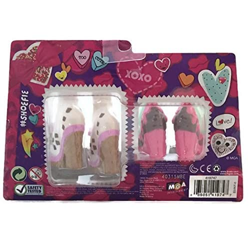 Image 2 of Exclusive 2016 Valentine's Day Bratz Shoefie Snaps Shoe Pack Toy