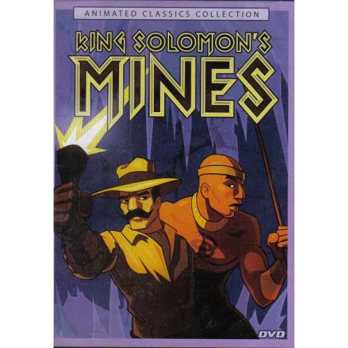 Image 0 of King Solomon's Mines On DVD With Tom Burlinson