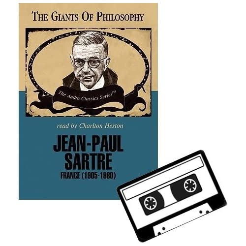 Image 0 of Jean-Paul Sartre On Audio Cassette by Charlton Heston