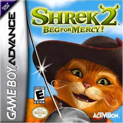 Shrek 2 Beg For Mercy! For GBA Gameboy Advance