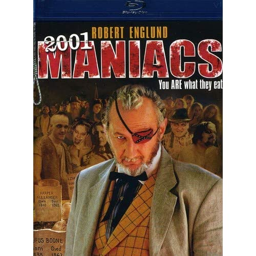 2001 Maniacs Blu-Ray Digital HD On Blu-Ray With Bill Moseley