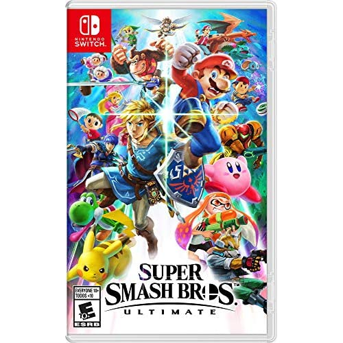 Super Smash Bros Ultimate For Nintendo Switch Fighting