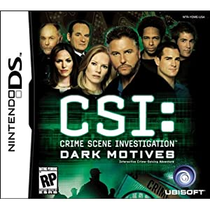 Image 0 of CSI: Dark Motives For Nintendo DS DSi 3DS 2DS