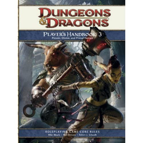 Player's Handbook 3: A 4th Edition D&d Core Rulebook Strategy Guide